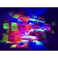 Primi Amazing LED luz flecha Rocket helicóptero vuelo Toy Party Fun elástica de regalo Pack de 24