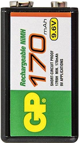 Ni-MH Backup Battery 9.6V 170mAh -