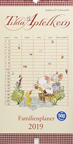 Tilda Apfelkern. Familienplaner 2019 por Andreas H. Schmachtl