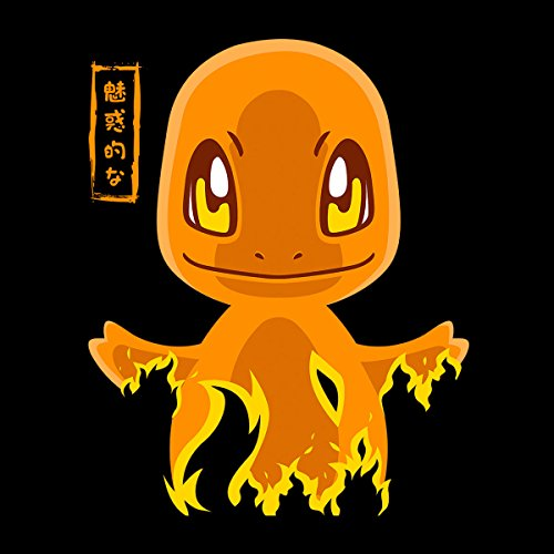 Pokemon Charmander Men's Vest Black