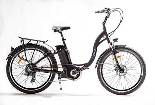 IC Electric Essens Bicicleta, Negro, Talla Única