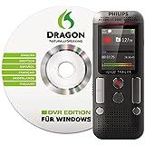 Philips Voice Tracer - Grabadora digital con software de reconocimiento de voz y grabación estéreo 2Mic