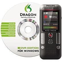 Philips DVT2700 Registratore Vocale, Memoria Interna da 4GB