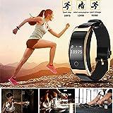 Lorenlli Fit CK11S Smartband Blood Pressure Watch Blood Oxygen Cardiofrequenzimetro pedometro Braccialetto Fitness IP67 Wristband Impermeabile