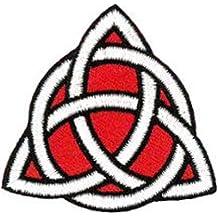 Parche con símbolo celta puede no estar en español 5 cm X 5 cm (5,08 cm X 5,08 cm)