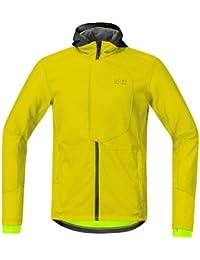 Gore Bike Wear Element Urban Windstopper Soft Shell - Chaqueta para hombre, color amarillo, talla XL