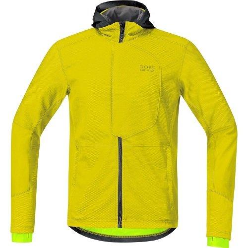 Gore Bike Wear Element Urban Windstopper Soft Shell - Chaqueta para hombre, color amarillo, talla S