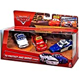 Disney Cars To Protect And Serve 3 Pack - Driving School Lightning McQueen, Mike 07 & Didi 05