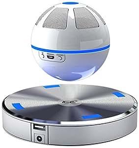 ICE Orb schwebender Bluetooth Lautsprecher (weiß/blau)