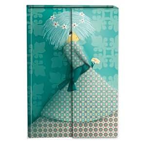 Les Délicieuses, Carnet aimanté 11x15,5cm 192 pages ligné