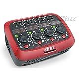 Hi-Tec Hitec Modellbau-Ladegerät 110 V, 220V 1A X4 Micro LiPo