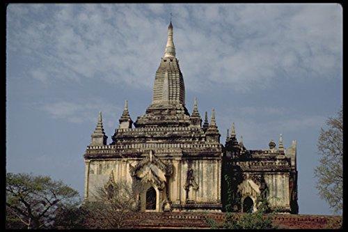 321032 Pagan Burma A4 Photo Poster Print 10x8