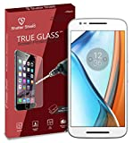 Shatter Shield Premium Tempered Glass For Motorola Moto E 3rd Gen. (Motorola Moto E3) / Motorola Moto E Power 3rd Gen. (Motorola Moto E3 Power) with Easy to install & Cleaning kit Included