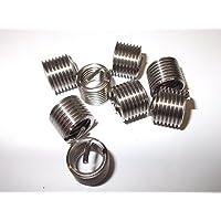Innovo Pack de 8 hilo de helicoil M10 x 1,5 mm insertos de rosca de helicoil para reparación de enredos de rosca de alambre