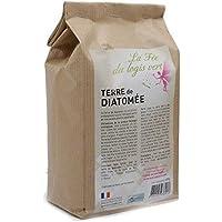 Eco-conseils® - Terre de diatomée alimentaire (pour animaux) 1Kg à 20kg- Protecteur et insecticide alimentaire biologique - Emballage 100% écologique … (1kg)