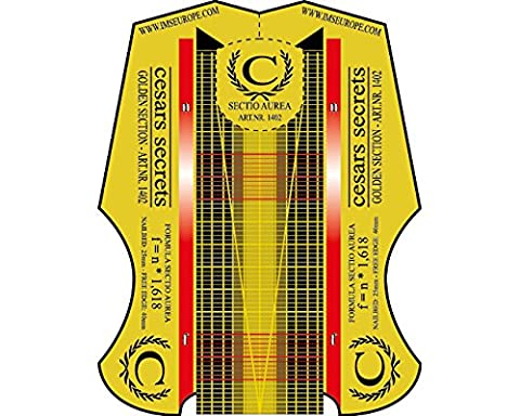 Cesars Nail Forms Sectio Aurea - Goldener