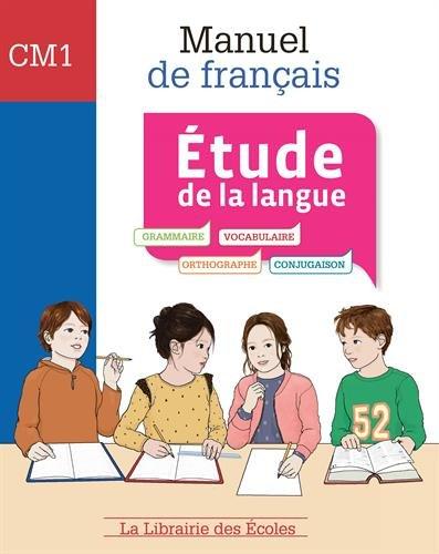 Français CM1 : Manuel, étude de la langue