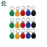 OBO HANDS 125khz Etiquetas EM4100 Rfid Tarjeta Token Clave de la Etiqueta de Control de Acceso Smart Card ID Keyfobs Paquete de 100pcs (AMARILLO)