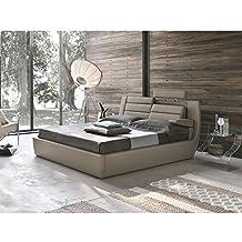 amazon.it: letto king size con contenitore - Letto Contenitore Super King Size