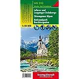 Loferer und Leoganger Steinberge - Chiemgauer Alpen - Nationalpark Berchtesgaden, Wanderkarte 1:50.000, WK 393: Wandel- en fietskaart 1:50 000 (freytag & berndt Wander-Rad-Freizeitkarten)