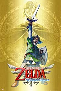 Legend of Zelda Skyward Sword Poster Print (60,96 x 91,44 cm