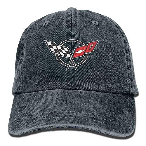 Xukmefat Unisex Corvette-Logo Baseball Cap Snapback Adult Cowboy Hat Hip Hop Trucker Hat XFG4744