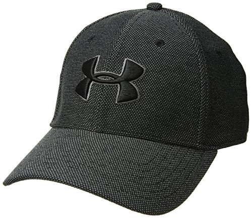 Under Armour Herren Heathered Blitzing 3.0 Kappe, Schwarz, M