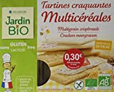 Jardin Bio Tartines Craquantes Multicéréales sans Gluten 150 g