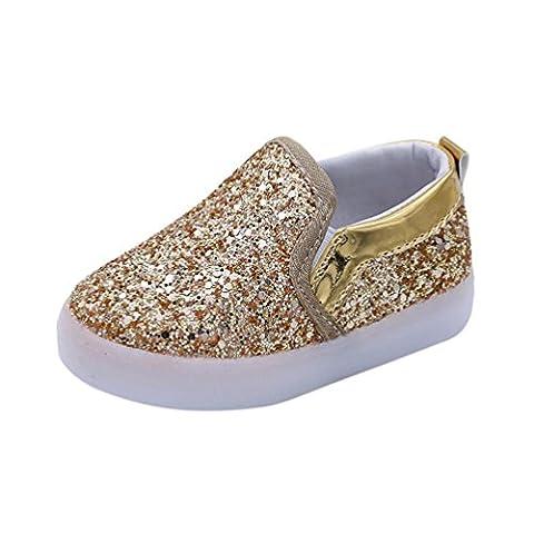 ZJENE , {Chaussures premiers pas pour bébé (garçon) multicolore noir - multicolore - doré,