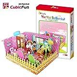 """Puzzle 3D CubicFun S?rie DIY - """"Boutique ? Th?me -, occasion d'occasion  Livré partout en Belgique"""