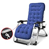 LXY Multifunktionale Liegesessel Falten Mittagspause kühl schlafen Stuhl Einzel Erwachsene tragbare Sommer Hause Siesta Bett Klappstuhl (Farbe : B-2#)