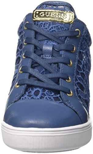 Guess Finna, Chaussures de Tennis femme Blu (Bleu/Blue)