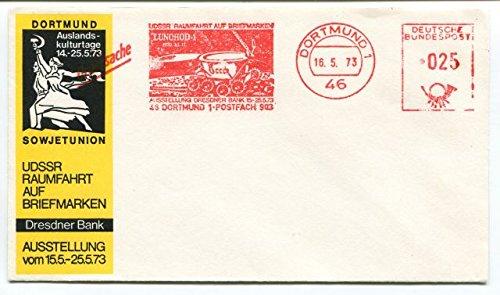 1973-dortmund-1-sowjetunion-udssr-raumfahrt-briefmarken-dresdner-bank-deutsche