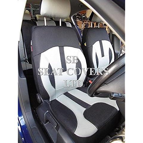 Per Land Rover Discovery, Seggiolino auto copre, Rossini Elegance Grigio ROS 0213Universale Set Completo