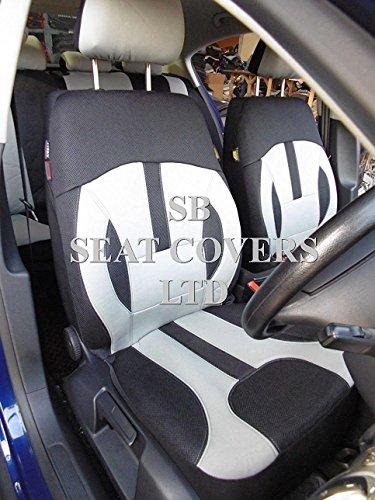 Per Chevrolet Camaro, Coprisedili Auto Rossini Elegance Grigio ROS 0213Universale Set Completo