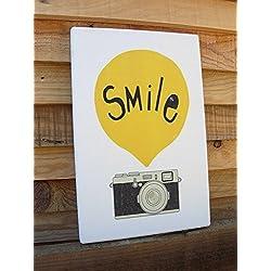 Smile -Tamaño 20x30 cm