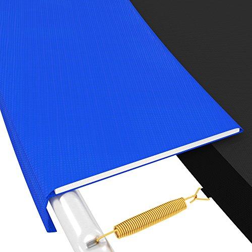 awm® Trampolin Randabdeckung PVC 350 mm Abdeckfläche UV Beständig Federkranz, 305 cm, T-RA-B305