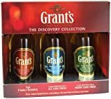 "William Grants ""The Discovery Collection"" Blended Scotch Whisky Miniature Gift Set"