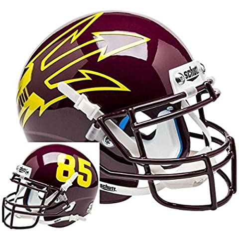 NCAA Arizona State Sun Devils MN Big Fork Mini Helmet, One Size, White by Schutt
