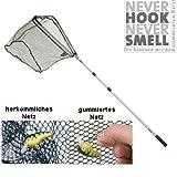 Never Hook, Never Smell - Allroundkescher, 3.-Tlg, 2,35 m