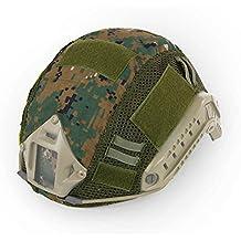 Decho-C - Casco táctico militar de combate rápido para casco de camuflaje para MH
