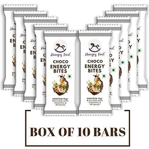 Hungry Foal Choco Energy Bites - (Box of 10 Bars)