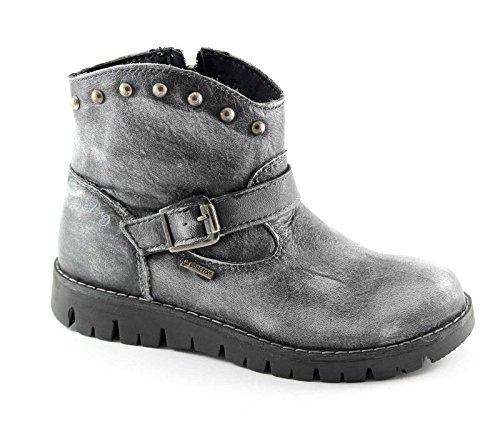 PRIMIGI 46331 36 chaussures gris bébé bottes boucle zip gore-tex Grigio