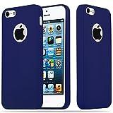 Cadorabo Coque pour Apple iPhone 5 / iPhone 5S / iPhone Se en Candy Bleu FONCÉ –...