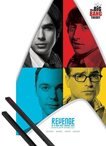 1art1® Poster + Suspension : The Big Bang Theory Poster (91x61 cm) Revenge Et Kit De Fixation Noir