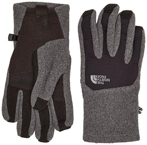 THE NORTH FACE Herren Handschuhe Denali Etip, XL, Charcoal Grey Heather/Tnf Black -