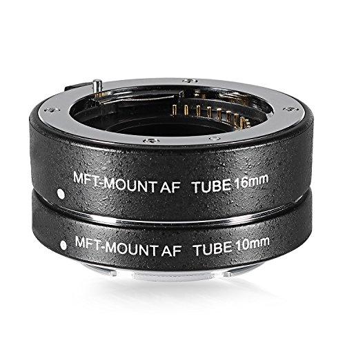 Neewer Lega di alluminio baionetta metallo messa fuoco automatica tubo di prolunga macro close up Set di 10 16 per micro Four Thirds fotocamere
