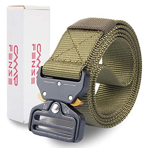 CampFENSE Taktischer Gürtel, Taktisch Gürtel Schwerlast Militär Nylon Web Gurt, Breite 1,5