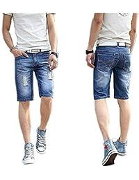 Verticals Stylish and Trendy Men's Denim Shorts (denimrugged-Shorts)