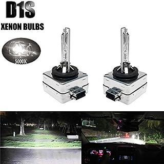 HID Xenon Scheinwerfer Glühbirnen Ersatz–D1S–35W 5000K–85415C1854156614166142–(Pack von zwei Leuchtmittel)–2Jahre Garantie...